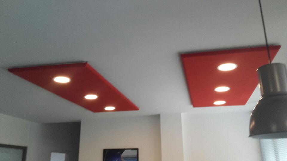 Panneau acoustique de plafond