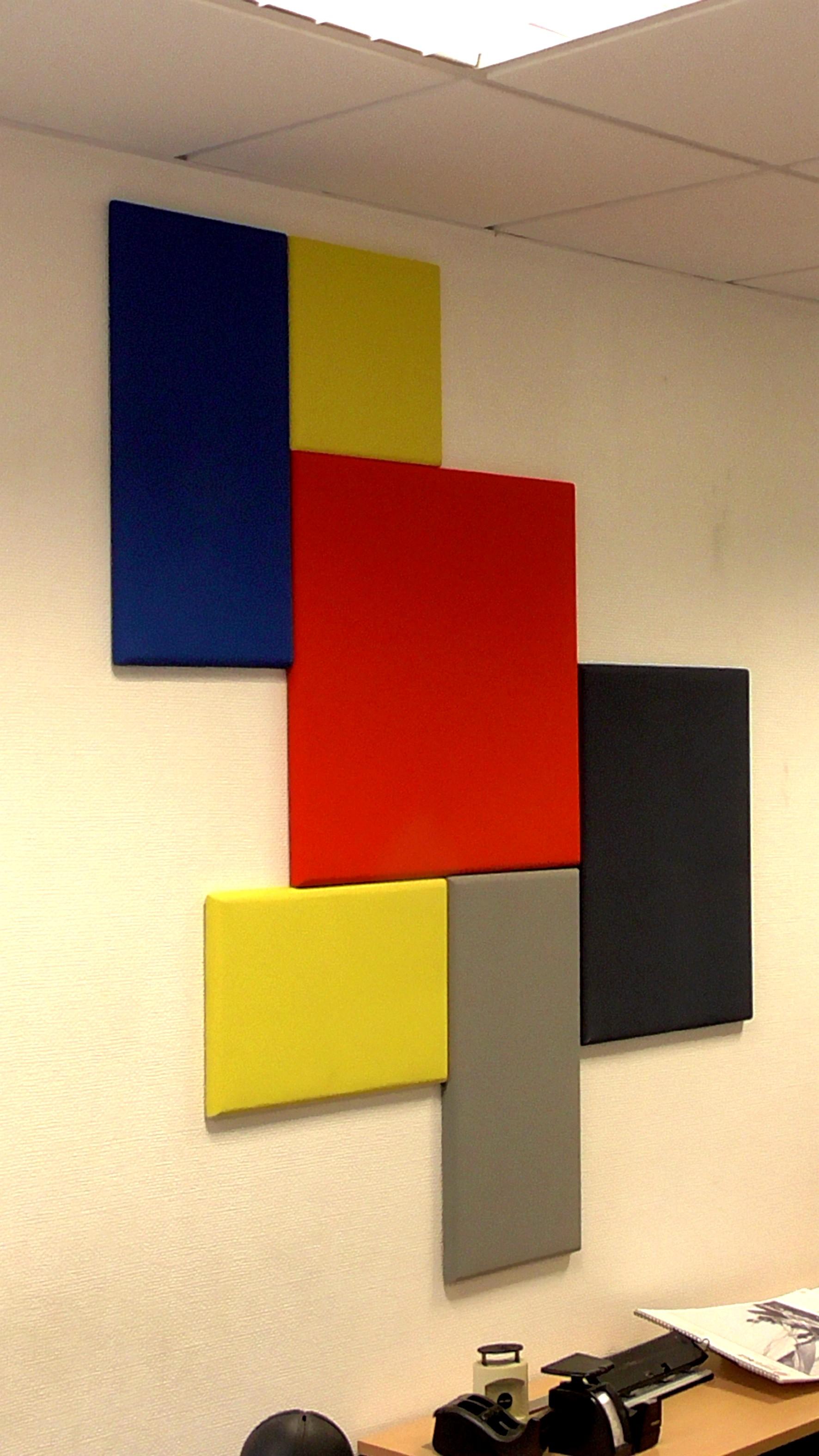 Panneaux acoustiques de la gamme Tango, inspiré d'artiste contemporain